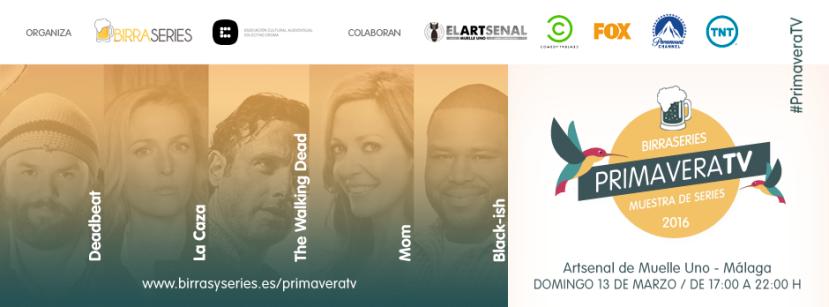 BirraSeries Málaga presenta PrimaveraTV en MuelleUno