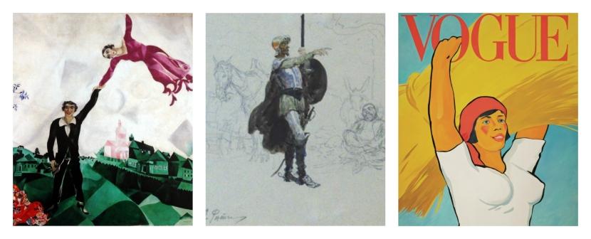 Chagall y Cervantes llegan al MuseoRuso